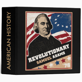 Samuel Adams American Revolutionary Binder