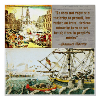 Samuel Adams - Boston Uprising Poster
