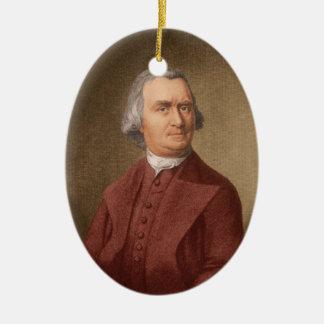 Samuel Adams Ceramic Ornament