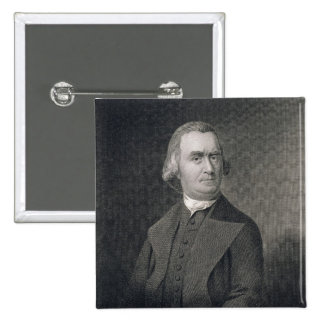 Samuel Adams, engraved by G.F. Storm (fl.c.1834) a Pinback Buttons