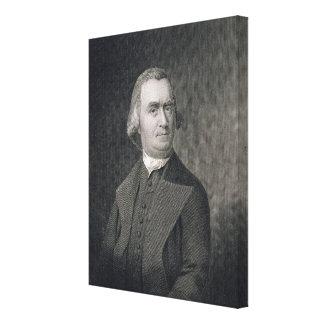 Samuel Adams, engraved by G.F. Storm (fl.c.1834) a Canvas Print
