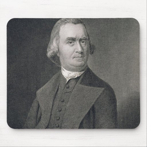 Samuel Adams, engraved by G.F. Storm (fl.c.1834) a Mouse Pad