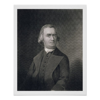 Samuel Adams, engraved by G.F. Storm (fl.c.1834) a Poster