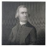 Samuel Adams, grabado por G.F. Storm (fl.c.1834) a Azulejo Cerámica