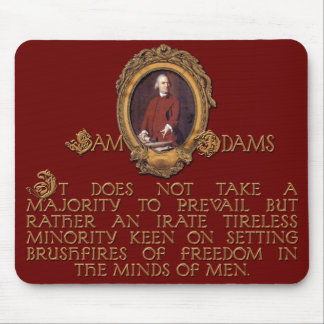 Samuel Adams, Irate and Tireless Guy Mouse Pad