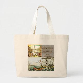 Samuel Adams Large Tote Bag