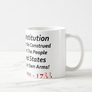 Samuel Adams: ¡Llamamiento a las armas! Taza