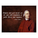 Samuel Adams Morality Poster