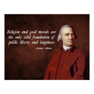 Samuel Adams Morality Posters