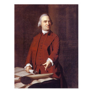 Samuel Adams Postcard
