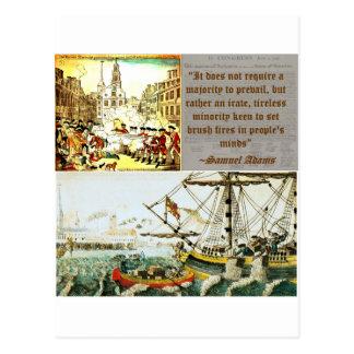 Samuel Adams Postcards