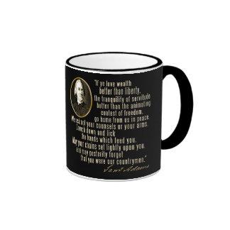 Samuel Adams Quote Mug