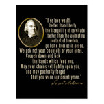 Samuel Adams Quote Post Card