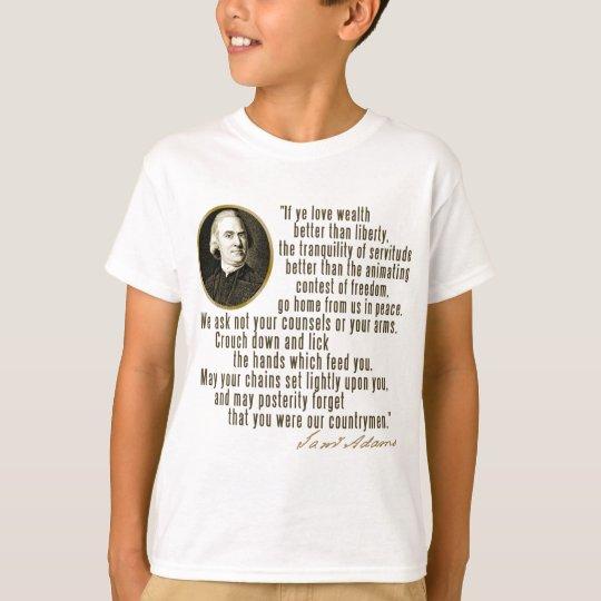 Samuel Adams Quote T-Shirt