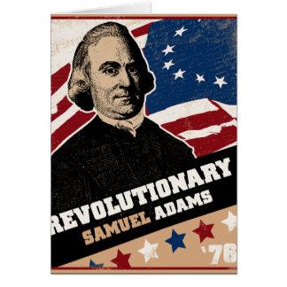 Samuel Adams Revolutionary Card