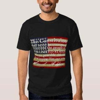 Samuel Addams en el 2' enmienda cd Camisas