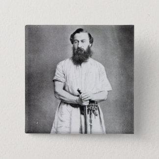 Samuel Baker, 1865 Pinback Button