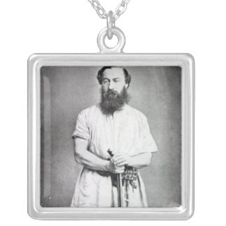Samuel Baker, 1865 Silver Plated Necklace