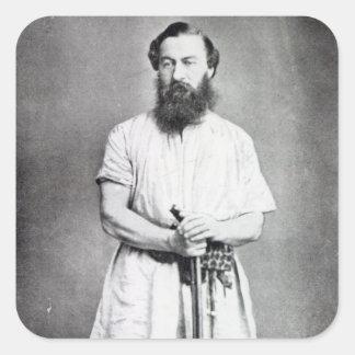 Samuel Baker, 1865 Square Sticker