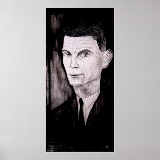 Samuel Beckett Póster