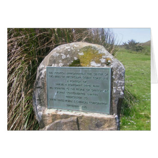Samuel Boardman plaque Card