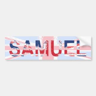 Samuel Bumper Sticker