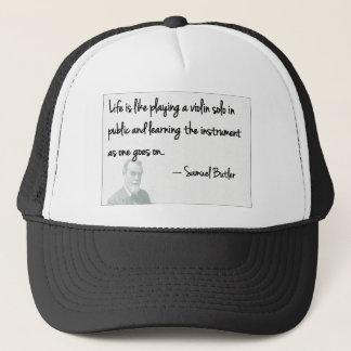 Samuel Butler - Life is uncertain! Trucker Hat
