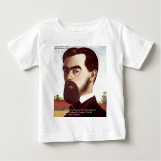 "Samuel Butler ""Life/Music"" Wisdom Quote Gifts Shirt"
