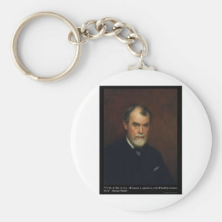 Samuel Butler Live/Love Quote Gifts Cards & Tees Keychain