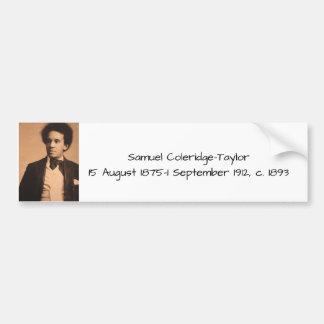 Samuel Coleridge-Taylor Bumper Sticker