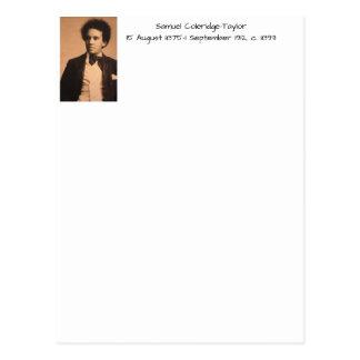Samuel Coleridge-Taylor, c. 1893 Postcard