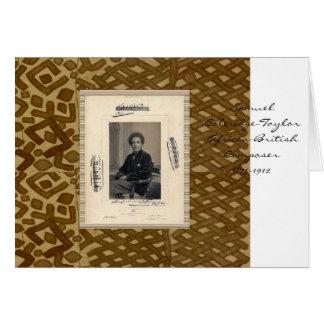 Samuel Coleridge-Taylor Greeting Card