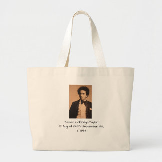 Samuel Coleridge-Taylor Large Tote Bag