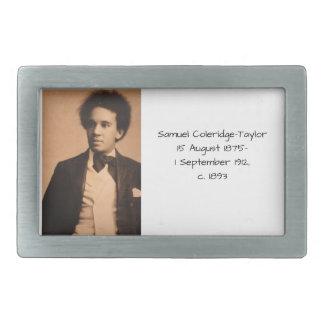 Samuel Coleridge-Taylor Rectangular Belt Buckle
