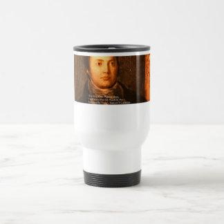"Samuel Cooleridge ""Ideas"" Wisdom Quote Gifts Travel Mug"