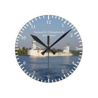 Samuel D. Champlain & Innovation clock