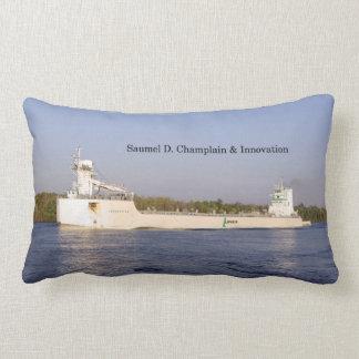 Samuel D. Champlain & Innovation lumbar pillow