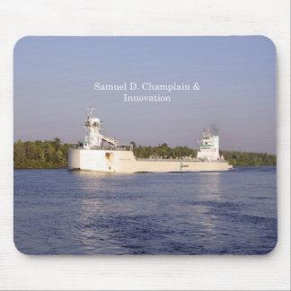 Samuel D. Champlain & Innovation mousepad