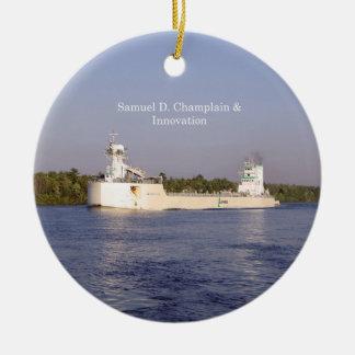Samuel D. Champlain & Innovation ornament