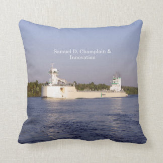 Samuel D. Champlain & Innovation square pillow