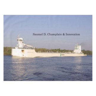 Samuel D. Champlain & Innovation table cloth