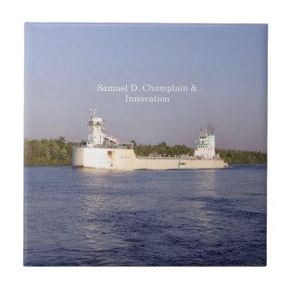 Samuel D. Champlain & Innovation tile