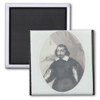 Samuel de Champlain 1854 Imán De Frigorifico