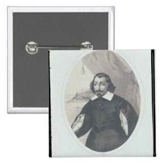 Samuel de Champlain  1854 Pinback Button