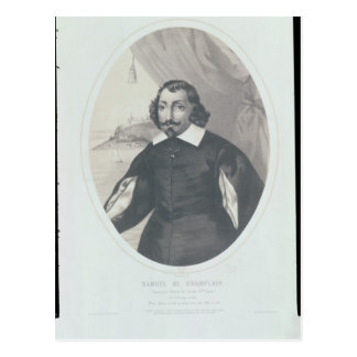 Samuel de Champlain  1854 Postcard