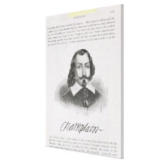 Samuel de Champlain Canvas Print