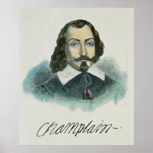 Samuel de Champlain Poster
