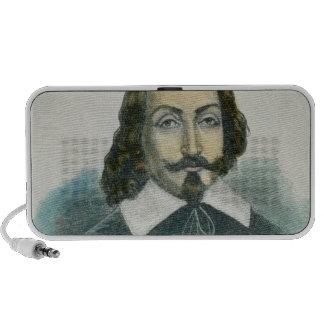 Samuel de Champlain Notebook Speaker