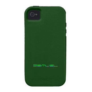 Samuel iphone 4 green case Case-Mate iPhone 4 covers