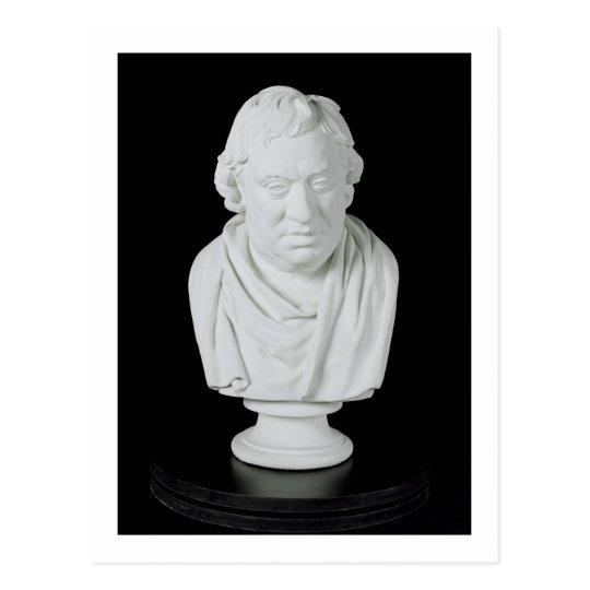 Samuel Johnson (1709-84) 1777 (plaster) Postcard